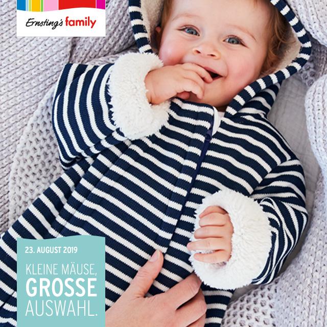Ernsting's family: Baby-Kollektion