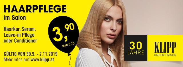 Klipp: Haarpflege-Aktion im Oktober