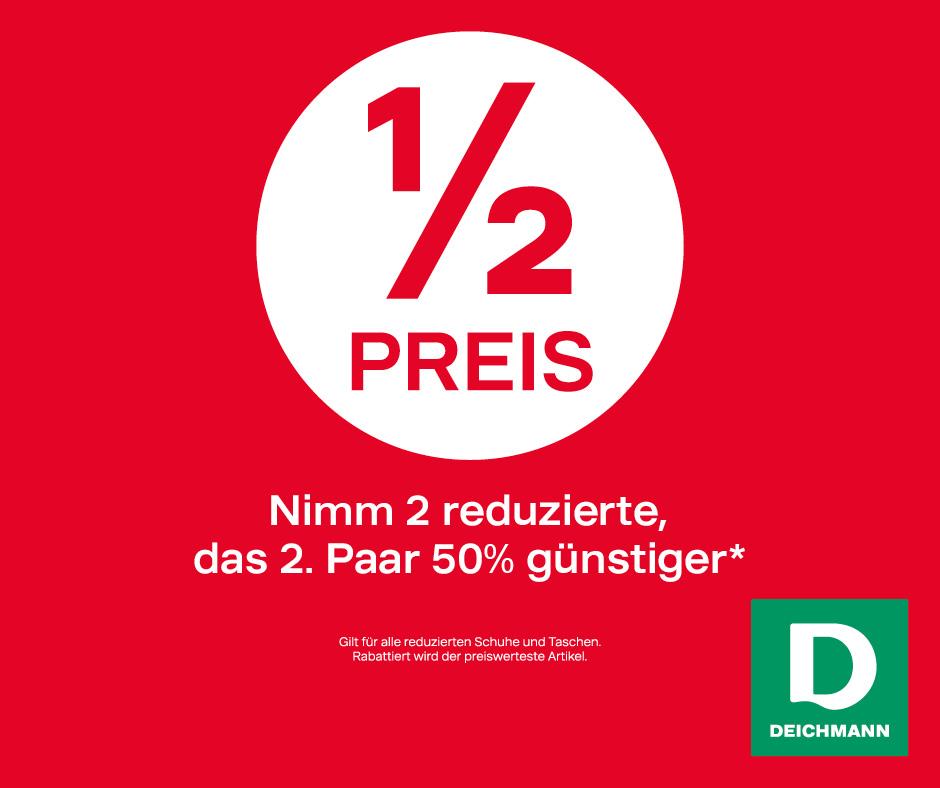 Deichmann: -50%-Aktion