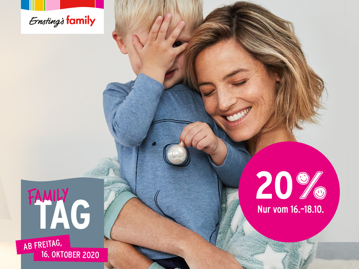 Family Tag bei Ernsting's family