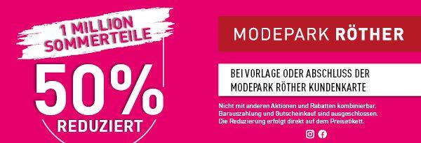 Modepark Röther: Sommeraktion